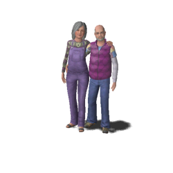 Famille Carpenter-Rhodes (Buzz et Hope)