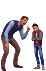 Les Sims 4 Être parents render 05