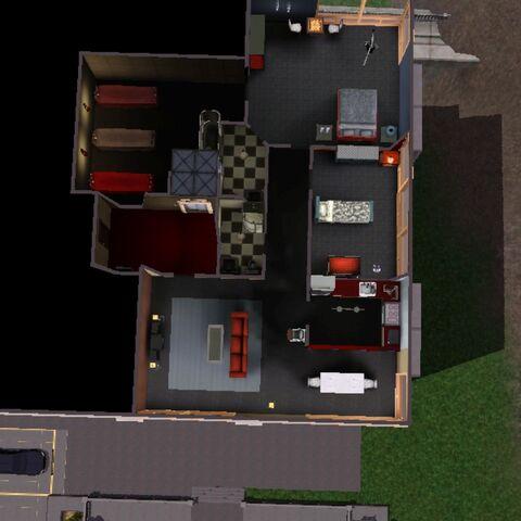 Piso del apartamento