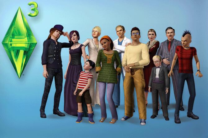 Sims 3 Installeerscherm