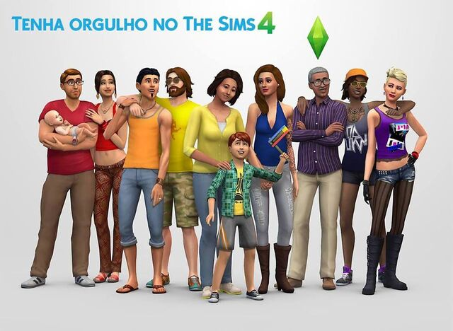 File:The Sims 4 render with baby.jpg