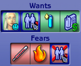 Wants and fears