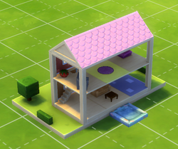 Home for Two Dollhouse