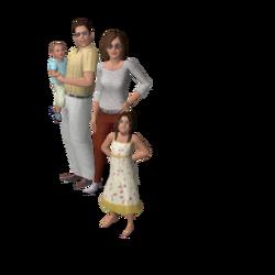 Monty familie (Patrizio)