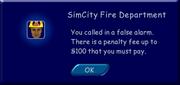 TS Firefighter fine