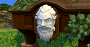 Whispering Wishing Well Angry Face