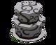 Бело-чёрный торт