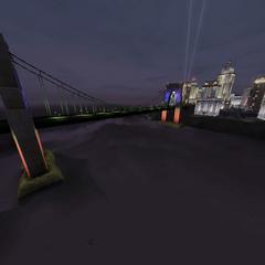 El puente de noche