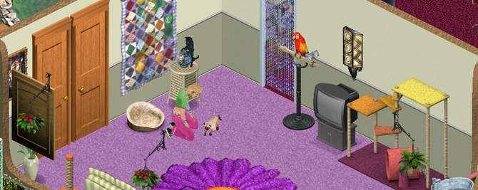 Cover LOS SIMS ANIMALES A RAUDALES
