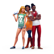 TS4 Base Game Chill