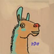 Lama Painting
