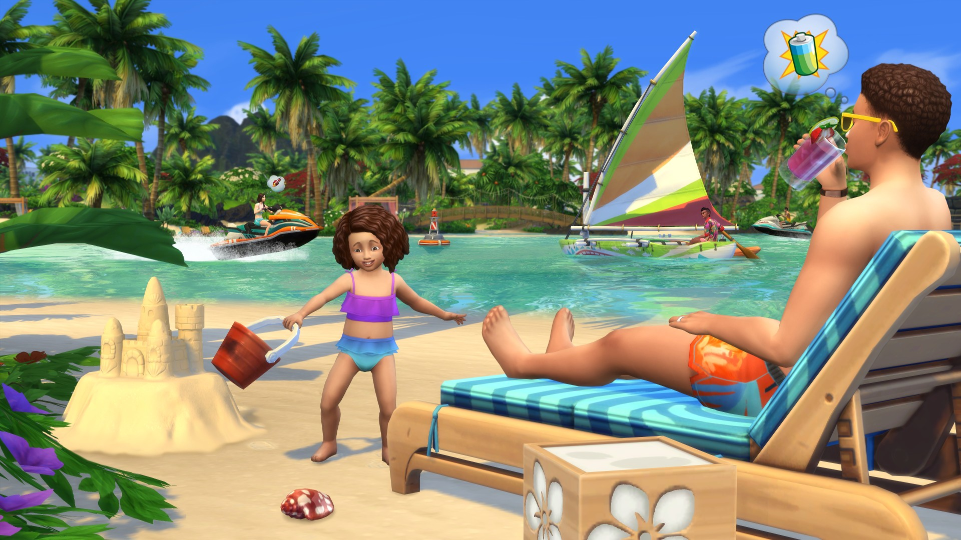 sims 4 island living guide
