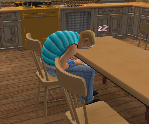 File:Ts2 sim passed out in food.png