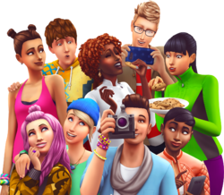 The Sims 4 Rebrending Render