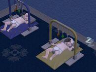 Младенцы спят