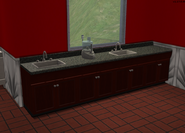 Amar's Restaurant kitchen sinks