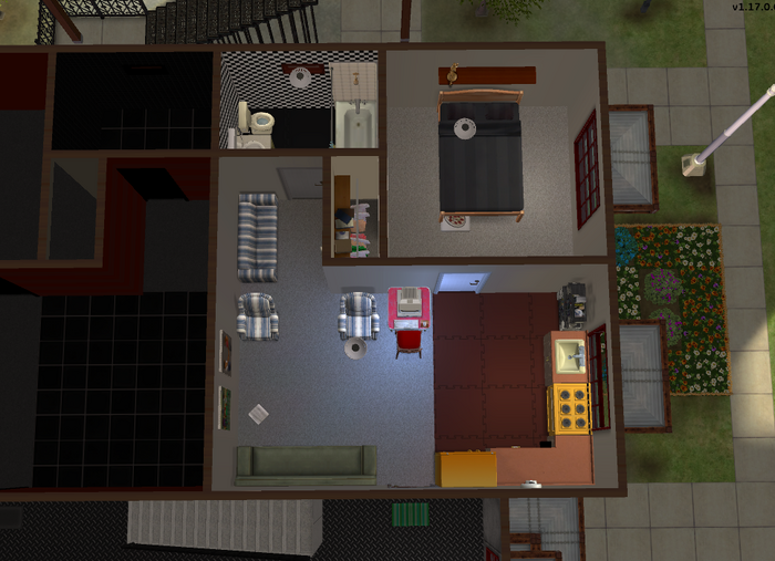 Haider family apartment