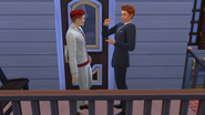 James tells Riley about his own move