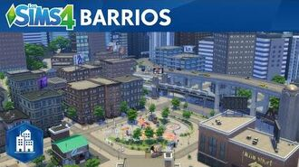 Los Sims 4 Urbanitas tráiler oficial de los barrios