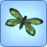 Papillon Machaon vert