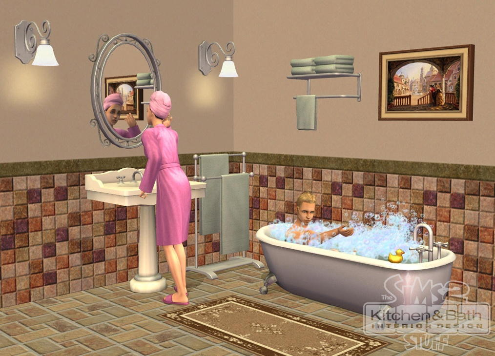 Sims 2 Kitchen And Bath Interior Design Stuff The 6