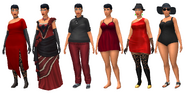 TS4 - Eve Hobson - Outfits