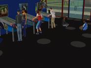 Teens in simoleon arcade