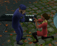 Layla propose Gladsten