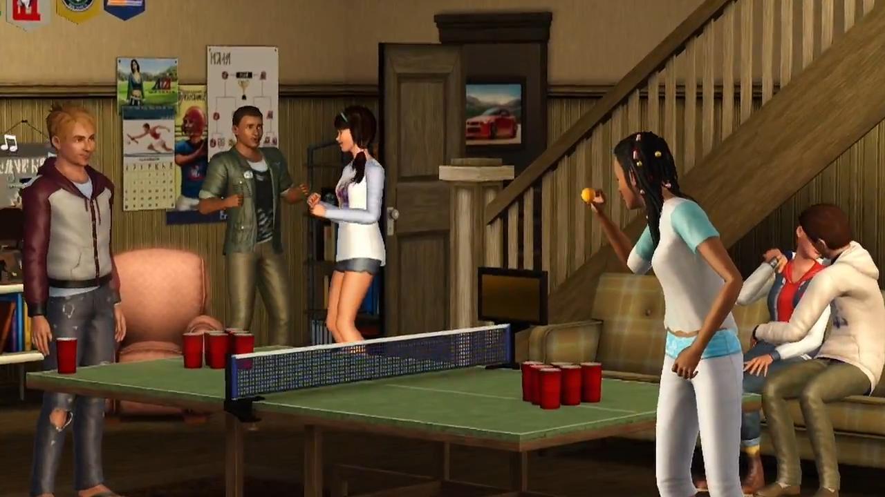 The Sims 3 University Life Trailer 4 Jpg