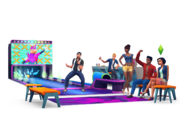 The Sims 4 Bowling Night Stuff Render 02