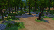 Granite Falls Campground center area