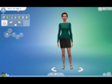 Unnamed Woman (The Sims 4 Create a Sim Korra (LittlePenguin)