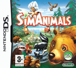Jaquette SimAnimals Nintendo DS