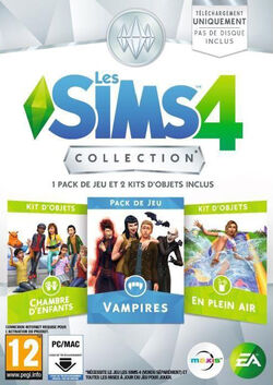 Packshot Les Sims 4 Collection 5