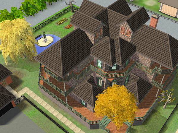 house of fallen trees | the sims wiki | fandom poweredwikia