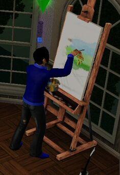 Sim painting