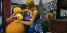 Sims-4-spooky-party-pumpkin-carving