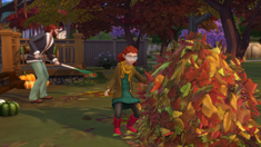 TS4Seasons Autumn activities
