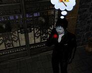 Vampire Eating plasma fruit