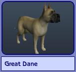 Great Dane (Sims 2)