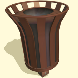 'Right Away' Community Trash-Can
