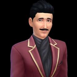 Christiaan van de Kerkhof (De Sims 4)
