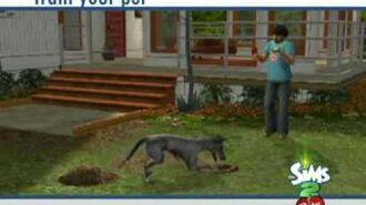 Die Sims 2 Haustiere Erweiterungspack Trailer