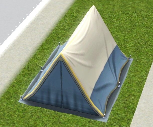 This travel tent is the ultimate mobile bed that Simoleons can buy. Its ultra compact size and brilliant colors will show others that you no rookie when it ... & Tent | The Sims Wiki | FANDOM powered by Wikia