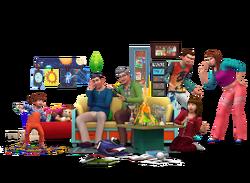 Les Sims 4 Être parents render 02