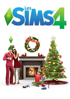 Packshot Les Sims 4 Pack Fêtes de fin d'année