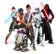 The Sims 4 Journey to Batuu Render 01