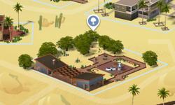 Woestijnbloempark Kaart