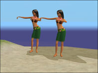 Hula Zombies's Original Appearance in TS2