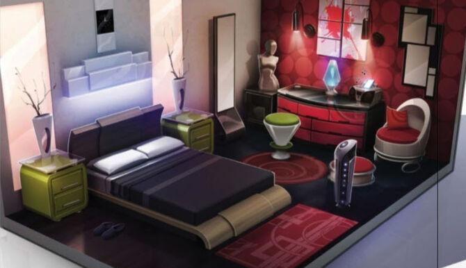 TS4 Bedroom Concept Art